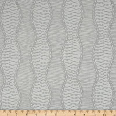 Kaufman Drawn Geo Stripe Pewter