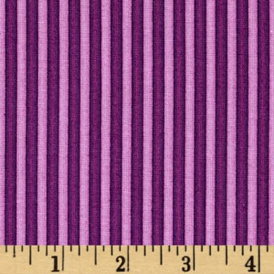 Rainbow Dreams Stripe Dark Purple