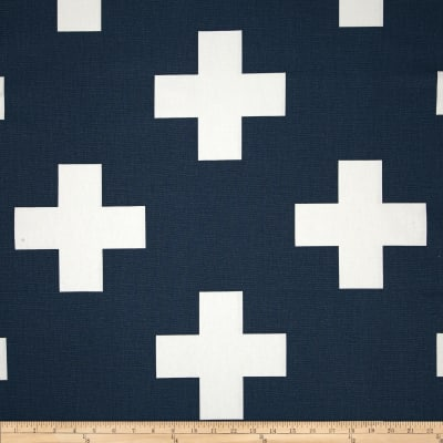 Premier Prints Large Swiss Cross Premier Navy