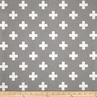 Premier Prints Twill Swiss Cross Storm