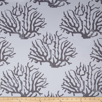 RCA Blackout Drapery Fabric Coral Grey