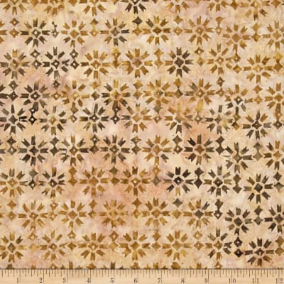 Timeless Treasures Tonga Batik Madrid Patchwork Star Acorn