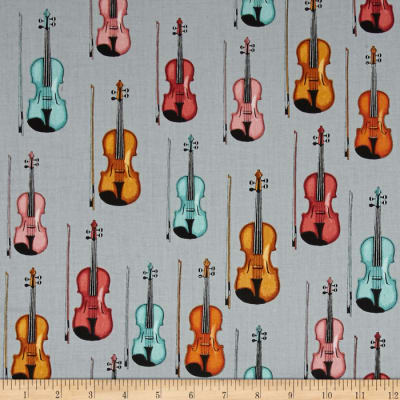 Perfect Pitch Violins Grey