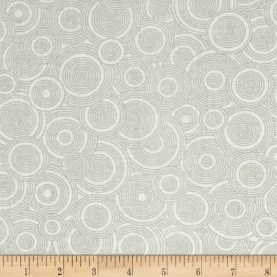 "108"" Contempo Quilt Backing Spiral Grey/White"