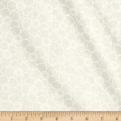 """108"""" Contempo Quilt Back Daisy White/Tint"""