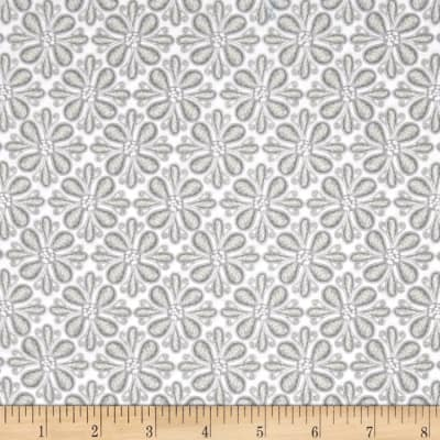 Soul Blossom Lace Flowers Gray