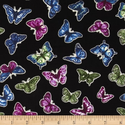 Butterfly Forest Flight Black/Multi