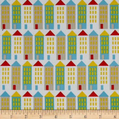 Cloud 9 Organic Corduroy Small World City Streets