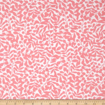 Cloud 9 Organic First Light Flannel Branch Pink