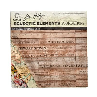 Tim Holtz Eclectic Elements Foundations 12