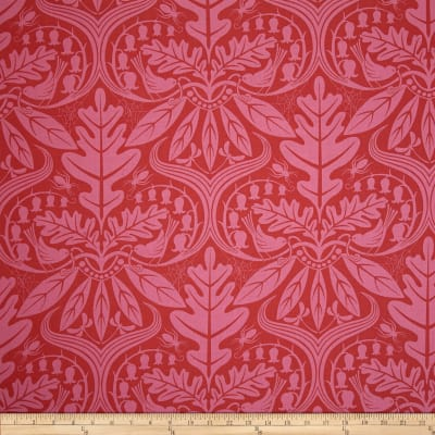 Enchanted Damask Red