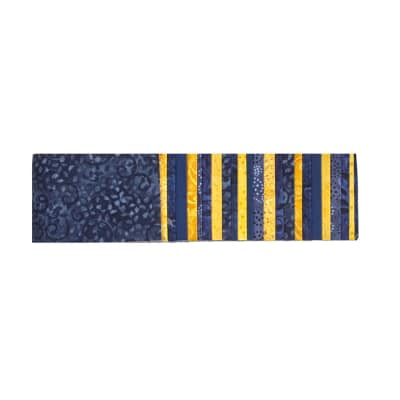 "#1 Fan Essential Gems 2.5"" Strips Blue/Gold"