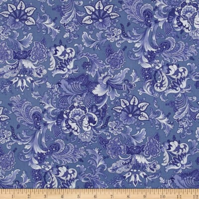 April Cornell Music Collection Jacob's Court Periwinkle