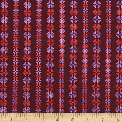 Amy Butler Bright Heart Stitchy Dots Port