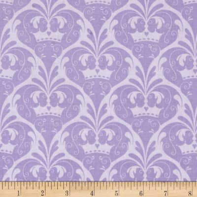 Riley Blake Dream and a Wish Damask Purple