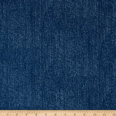 Riley Blake Lucky Star Denim Blue