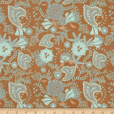 Riley Blake Chatsworth Floral Brown