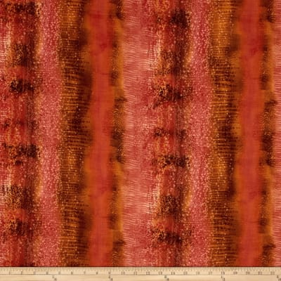 Enchanted Pines Texture Stripe Salmon