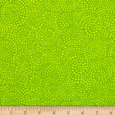 Timeless Treasures Pop Basic Circle Dots Lime