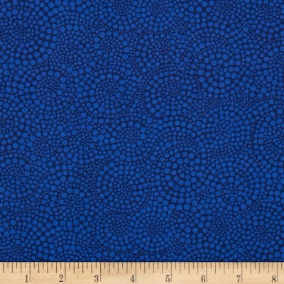 Timeless Treasures Pop Basic Circle Dots Navy