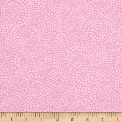 Timeless Treasures Pop Basic Circle Dots Pink