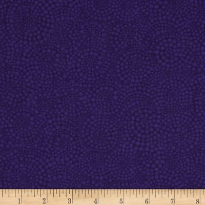 Timeless Treasures Pop Basic Circle Dots Violet
