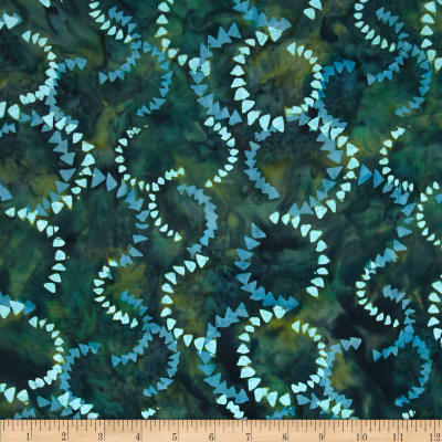 Timeless Treasures Tonga Batik City Lights Currents Kale