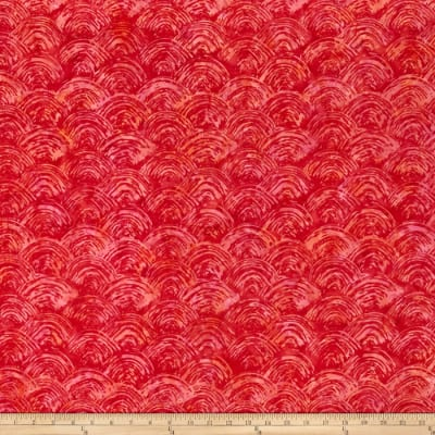 Bali Batiks Handpaints Brush Strawberry