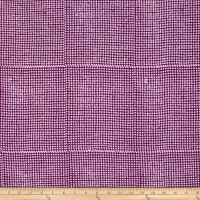 Bali Batiks Hand Dyed Dots Purple