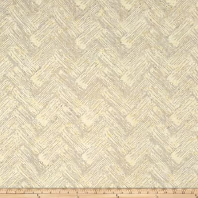 Bali Batiks Handpaints Chevron Brush Natural