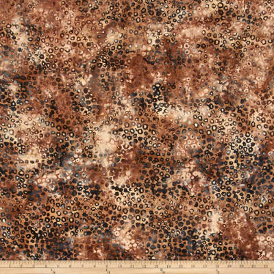 Bali Batiks Handpaints Static Dots Desert