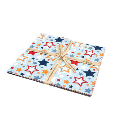 "Riley Blake Lucky Star 10"" Stacker Multi"