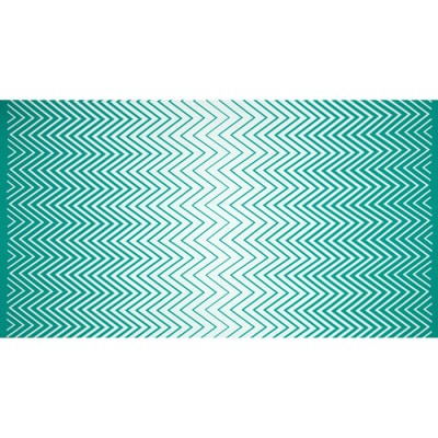Moda Simply Colorful II Zig Zag Ombre Teal