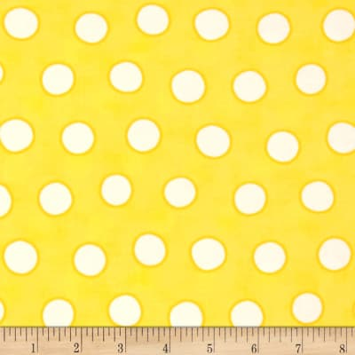 Moda Dot .Dot.Dash-! Bubble Dots Yellow