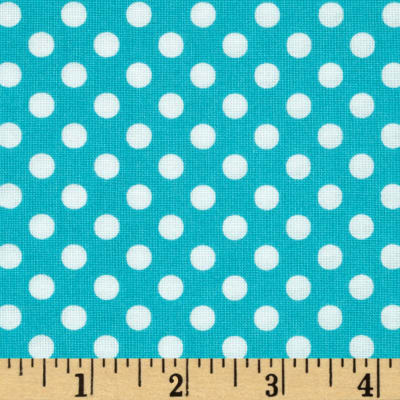 Moda Dot .Dot.Dash-! Dots Everywhere Turquoise