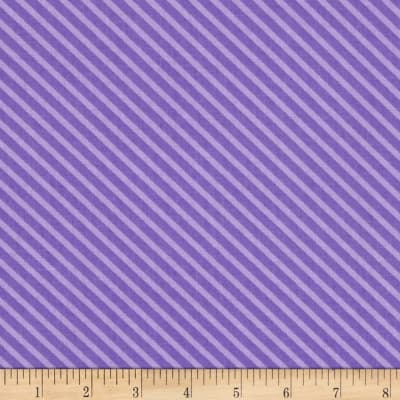 Moda Dot .Dot.Dash-! Diagonal Stripe Purple