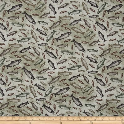 Elk Mountail Toss Fish Light Taupe