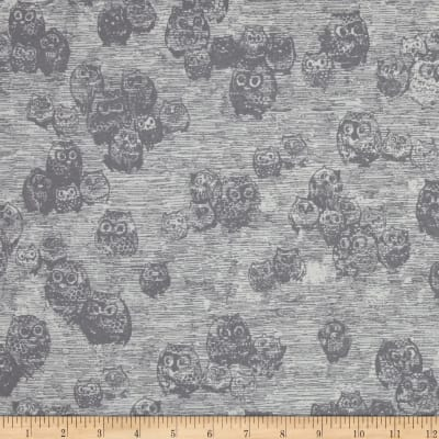 Art Gallery Wonderland Jersey Knit Owly Boo