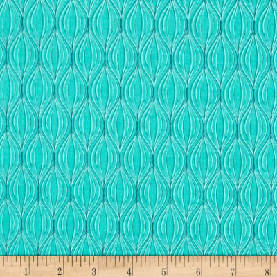 Notting Hill Tonal Ogee Turquoise