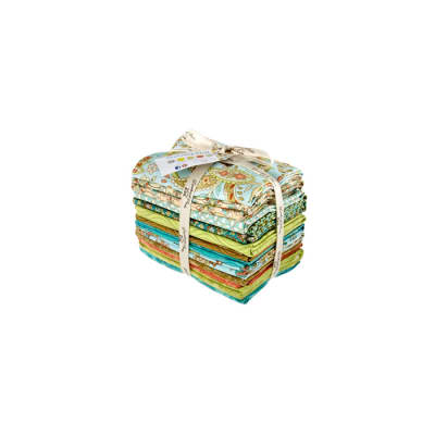 Notting Hill Fat Quarter Aqua