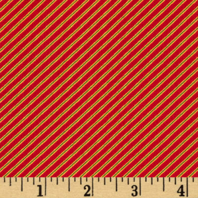 Tee Time Diag Stripe Red