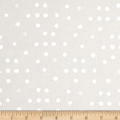 Cotton + Steel Paper Bandana Paint Dot Cloud