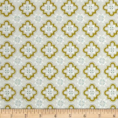 Cotton + Steel Honeymoon Porch Tile Mustard
