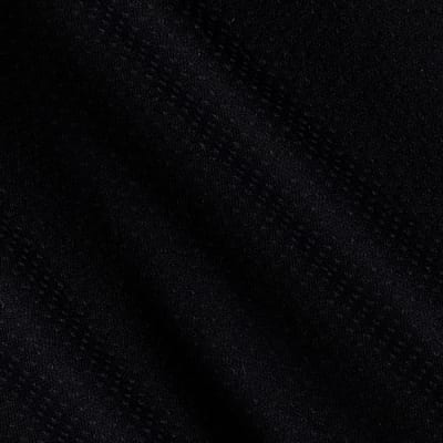 Lycra Spandex Blend Pointelle Jersey Knit Black