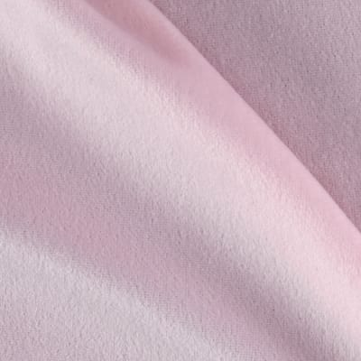 Solid Velour Baby Pink
