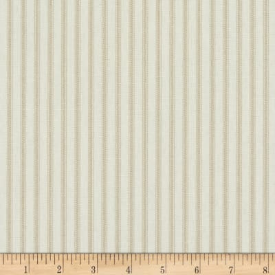 Magnolia Home Fashions Berling Ticking Stripe Sand