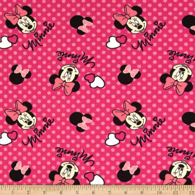 Disney Knit Minnie Dots Pink