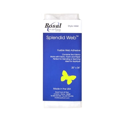 "Bosal Slendid Web 20x36"" Sheet Fusible Interfacing"