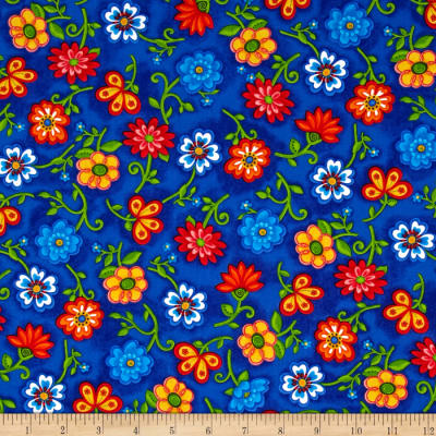Emily's Artful Days Floral Royal