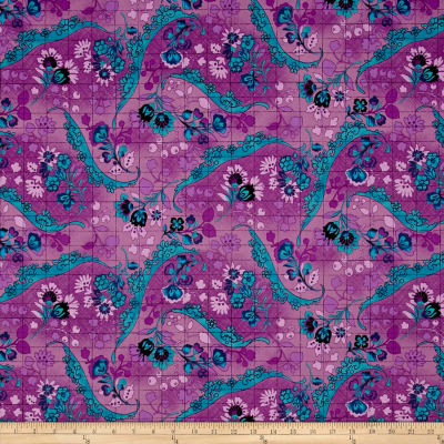 Tracy Porter Ardienne Floral Damask Purple